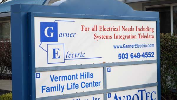 Contact Garner Electric
